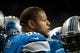 Dec 16, 2013; Detroit, MI, USA; Detroit Lions defensive tackle Ndamukong Suh (90) before the game against the Baltimore Ravens at Ford Field. Mandatory Credit: Tim Fuller-USA TODAY Sports