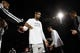 Dec 29, 2013; San Antonio, TX, USA; San Antonio Spurs forward Tim Duncan (21) during player introductions before the game against the Sacramento Kings at the AT&T Center. Mandatory Credit: Soobum Im-USA TODAY Sports