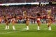 Dec 29, 2013; Phoenix, AZ, USA; Arizona Cardinals cheerleaders perform against the San Francisco 49ers at University of Phoenix Stadium. The 49ers defeated the Cardinals 23-20. Mandatory Credit: Mark J. Rebilas-USA TODAY Sports