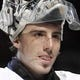 March 27, 2011; Pittsburgh,PA, USA: Pittsburgh Penguins goalie Marc-Andre Fleury (29) during the team awards ceremony before the game against the Florida Panthers at the CONSOL Energy Center. The Pens won 2-1 in a shootout.  Mandatory Credit: Charles LeClaire-USA TODAY Sports