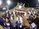 Dec 27, 2013; San Francisco, CA, USA; Washington Huskies quarterback Keith Price (17) holds the championship trophy after the 2013 Fight Hunger Bowl against the BYU Cougars at AT&T Park. Washington defeated BYU 31-16. Mandatory Credit: Kirby Lee-USA TODAY Sports