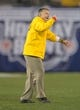 Dec 30, 2013; San Diego, CA, USA; Arizona State Sun Devils coach Todd Graham reacts during the 2013 Holiday Bowl against the Texas Tech Red Raiders at Qualcomm Stadium. Texas Tech defeated Arizona State 37-23. Mandatory Credit: Kirby Lee-USA TODAY Sports