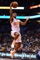 Jan 4, 2014; Phoenix, AZ, USA; Phoenix Suns guard Ish Smith (3) lays up the ball against the Milwaukee Bucks in the second half at US Airways Center. The Suns won 116-100. Mandatory Credit: Jennifer Stewart-USA TODAY Sports