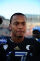 Dec 31, 2013; El Paso, TX, USA; UCLA Bruins quarterback Brett Hundley (17) is interviewed after the game against the Virginia Tech Hokies in the 2013 Sun Bowl at Sun Bowl Stadium. UCLA defeated Virginia Tech 42-12. Mandatory Credit: Andrew Weber-USA TODAY Sports