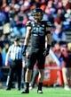 Dec 31, 2013; El Paso, TX, USA; UCLA Bruins linebacker Jordan Zumwalt (35) during the game against the Virginia Tech Hokies in the 2013 Sun Bowl at Sun Bowl Stadium. UCLA defeated Virginia Tech 42-12. Mandatory Credit: Andrew Weber-USA TODAY Sports