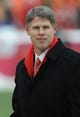 Dec 22, 2013; Kansas City, MO, USA; Kansas City Chiefs chairman Clark Hunt watches the team warm up before the game against the Indianapolis Colts at Arrowhead Stadium. The Colts won 23-7. Mandatory Credit: Denny Medley-USA TODAY Sports