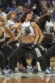 Jan 10, 2014; Minneapolis, MN, USA; Minnesota Timberwolves dancers perform in the fourth quarter against the Charlotte Bobcats at Target Center. Minnesota wins 119-92. Mandatory Credit: Brad Rempel-USA TODAY Sports