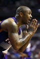 Jan 11, 2014; Auburn Hills, MI, USA; Phoenix Suns small forward P.J. Tucker (17) reacts after being called for a foul in the fourth quarter against the Detroit Pistons at The Palace of Auburn Hills. Detroit won 110-108. Mandatory Credit: Rick Osentoski-USA TODAY Sports