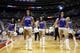 Jan 11, 2014; Auburn Hills, MI, USA; Detroit Pistons dancers perform during a time out against the Phoenix Suns at The Palace of Auburn Hills. Mandatory Credit: Rick Osentoski-USA TODAY Sports