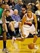 Jan 11, 2014; Portland, OR, USA; Portland Trail Blazers small forward Nicolas Batum (88) drives to the basket against the Boston Celtics at the Moda Center. Mandatory Credit: Craig Mitchelldyer-USA TODAY Sports