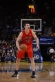 December 3, 2013; Oakland, CA, USA; Toronto Raptors power forward Tyler Hansbrough (50) controls the basketball during the first quarter against the Golden State Warriors at Oracle Arena. The Warriors defeated the Raptors 112-103. Mandatory Credit: Kyle Terada-USA TODAY Sports