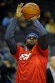 Jan 7, 2014; Memphis, TN, USA; Memphis Grizzlies power forward Zach Randolph (50) warming up before the game against the San Antonio Spurs at FedExForum. the San Antonio Spurs beat the Memphis Grizzlies 110 - 108 Mandatory Credit: Justin Ford-USA TODAY Sports