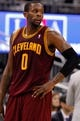 Dec 13, 2013; Orlando, FL, USA; Cleveland Cavaliers shooting guard C.J. Miles (0) against the Orlando Magic during the second half at Amway Center. Cleveland Cavaliers defeated the Orlando Magic 109-100. Mandatory Credit: Kim Klement-USA TODAY Sports