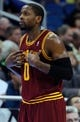 Dec 13, 2013; Orlando, FL, USA; Cleveland Cavaliers shooting guard C.J. Miles (0) against the Orlando Magic during the first quarter at Amway Center. Mandatory Credit: Kim Klement-USA TODAY Sports