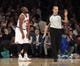Jan 13, 2014; New York, NY, USA; New York Knicks point guard Raymond Felton (2) reacts after being called for a foul during the third quarter of a game against the Phoenix Suns at Madison Square Garden. The Knicks defeated the Suns 98-96 in overtime. Mandatory Credit: Brad Penner-USA TODAY Sports