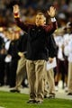 Dec 30, 2013; San Diego, CA, USA; Arizona State Sun Devils head coach Todd Graham during the first half against the Texas Tech Red Raiders during the first half in the Holiday Bowl at Qualcomm Stadium. Mandatory Credit: Christopher Hanewinckel-USA TODAY Sports