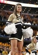 Jan 3, 2014; Arlington, TX, USA; Missouri Tigers cheerleader performs before the game against the Oklahoma State Cowboys at the 2014 Cotton Bowl at AT&T Stadium. Missouri beat Oklahoma State 41-31. Mandatory Credit: Tim Heitman-USA TODAY Sports