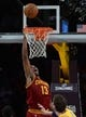 Jan 14, 2014; Los Angeles, CA, USA; Cleveland Cavaliers power forward Tristan Thompson (13) in the second half of the game against the Los Angeles Lakers at Staples Center. Cleveland Cavaliers won 120-118. Mandatory Credit: Jayne Kamin-Oncea-USA TODAY Sports