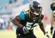 Dec 22, 2013; Jacksonville, FL, USA; Jacksonville Jaguars linebacker J.T. Thomas (52) works out prior to the game  against the Tennessee Titans at EverBank Field. Mandatory Credit: Kim Klement-USA TODAY Sports