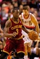 Jan 15, 2014; Portland, OR, USA; Cleveland Cavaliers shooting guard Dion Waiters (3) drives to the basket against the Portland Trail Blazers at the Moda Center. Mandatory Credit: Craig Mitchelldyer-USA TODAY Sports