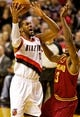 Jan 15, 2014; Portland, OR, USA; Portland Trail Blazers power forward LaMarcus Aldridge (12) shoots the ball over Cleveland Cavaliers power forward Tristan Thompson (13) at the Moda Center. Mandatory Credit: Craig Mitchelldyer-USA TODAY Sports