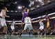 Jan 17, 2014; Boston, MA, USA; Los Angeles Lakers center Pau Gasol (16) works the ball against Boston Celtics point guard Avery Bradley (0) in the first quarter at TD Garden. Mandatory Credit: David Butler II-USA TODAY Sports