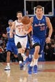 Jan 17, 2014; New York, NY, USA; Los Angeles Clippers power forward Blake Griffin (32) dribbles against the New York Knicks during the first half at Madison Square Garden. The Los Angeles Clippers won 109-94. Mandatory Credit: Joe Camporeale-USA TODAY Sports