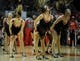 Jan 18, 2014; Chicago, IL, USA; The Luvabulls perform during the second half of a game between the Chicago Bulls and the Philadelphia 76ers during the second half at the United Center. The Chicago Bulls defeated the Philadelphia 76ers 103-78. Mandatory Credit: David Banks-USA TODAY Sports