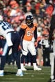 Dec 8, 2013; Denver, CO, USA; Denver Broncos outside linebacker Von Miller (58) in the second quarter against the Tennessee Titans at Sports Authority Field at Mile High. Mandatory Credit: Ron Chenoy-USA TODAY Sports