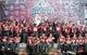 Feb 1, 2014; Tallahassee, FL, USA; Florida State Seminoles team during the BCS National Championship Celebration at Doak Campbell Stadium. Mandatory Credit: Melina Vastola-USA TODAY Sports