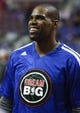 Jan 20, 2014; Auburn Hills, MI, USA; Los Angeles Clippers power forward Antawn Jamison (33) smiles before the game against the Detroit Pistons at The Palace of Auburn Hills. Clippers beat the Pistons 112-103. Mandatory Credit: Raj Mehta-USA TODAY Sports