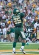 Aug 31, 2013; Waco, TX, USA; Baylor Bears running back Lache Seastrunk (25) during the game against the Wofford Terriers at Floyd Casey Stadium. The Bears defeated the Terriers 69-3. Mandatory Credit: Jerome Miron-USA TODAY Sports