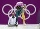 Feb 14, 2014; Krasnaya Polyana, RUSSIA; John Farrow (AUS) competes in the second heat of men's skeleton during the Sochi 2014 Olympic Winter Games at Sanki Sliding Center. Mandatory Credit: John David Mercer-USA TODAY Sports