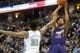 Feb 18, 2014; Denver, CO, USA; Phoenix Suns forward Markieff Morris (11) shoots the ball during the second half against the Denver Nuggets at Pepsi Center.  The Suns won 112-107 in overtime.  Mandatory Credit: Chris Humphreys-USA TODAY Sports