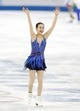 Feb 20, 2014; Sochi, RUSSIA; Mao Asada of Japan performs in the ladies free skate program during the Sochi 2014 Olympic Winter Games at Iceberg Skating Palace. Mandatory Credit: Jeff Swinger-USA TODAY Sports