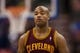 Feb 18, 2014; Philadelphia, PA, USA; Cleveland Cavaliers guard Jarrett Jack (1) during the second quarter against the Philadelphia 76ers at the Wells Fargo Center. The Cavaliers defeated the Sixers 114-85. Mandatory Credit: Howard Smith-USA TODAY Sports