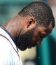 Mar 3, 2014; Lake Buena Vista, FL, USA; Atlanta Braves outfielder Jason Heyward (22) bows his head during the national anthem before the spring training exhibition game against the New York Mets at Champion Stadium.  Mandatory Credit: Jonathan Dyer-USA TODAY Sports