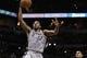 Mar 8, 2014; San Antonio, TX, USA; San Antonio Spurs forward Kawhi Leonard (2) dunks against the Orlando Magic during the second half at AT&T Center. The Spurs won 121-112. Mandatory Credit: Soobum Im-USA TODAY Sports