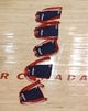 Feb 27, 2014; Toronto, Ontario, CAN; Washington Wizards practice jerseys are laid out on the floor before the start of their game against the Toronto Raptors at Air Canada Centre. The Wizards beat the Raptors 134-129 in triple overtime. Mandatory Credit: Tom Szczerbowski-USA TODAY Sports