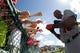 Mar 2, 2014; Lake Buena Vista, FL, USA; Detroit Tigers right fielder Torii Hunter (48) signs autographs propr to tht egame against the Atlanta Braves at Champion Stadium. Mandatory Credit: Kim Klement-USA TODAY Sports