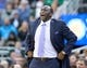 Mar 24, 2014; Salt Lake City, UT, USA; Utah Jazz head coach Tyrone Corbin during the second half against the Detroit Pistons at EnergySolutions Arena. The Pistons won 114-94. Mandatory Credit: Russ Isabella-USA TODAY Sports