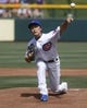 Mar 25, 2014; Mesa, AZ, USA; Chicago Cubs pitcher Tsuyoshi Wada (67) throws in the first inning against the Los Angeles Angels at HoHoKam Park. Mandatory Credit: Rick Scuteri-USA TODAY Sports