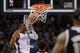 Mar 28, 2014; Oklahoma City, OK, USA; Oklahoma City Thunder guard Russell Westbrook (0) dunks the ball against the Sacramento Kings during the second quarter at Chesapeake Energy Arena. Mandatory Credit: Mark D. Smith-USA TODAY Sports