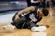 Mar 29, 2014; Dallas, TX, USA; Sacramento Kings guard Ben McLemore (16) is injured during the second half against the Dallas Mavericks at the American Airlines Center. The Mavericks defeated the Kings 103-100. Mandatory Credit: Jerome Miron-USA TODAY Sports