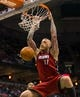 Mar 29, 2014; Milwaukee, WI, USA; Miami Heat forward Chris Andersen (11) dunks during the game against the Milwaukee Bucks at BMO Harris Bradley Center.  Miami won 88-67.  Mandatory Credit: Jeff Hanisch-USA TODAY Sports