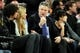 Apr 2, 2014; New York, NY, USA; American actor Alec Baldwin attends the game between the New York Knicks and the Brooklyn Nets during the first half at Madison Square Garden. The New York Knicks won 110-81. Mandatory Credit: Joe Camporeale-USA TODAY Sports