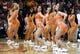 Apr 2, 2014; Phoenix, AZ, USA; The Phoenix Suns dancers perform during the third quarter against the Los Angeles Clippers at US Airways Center. The Clippers won 112-108. Mandatory Credit: Casey Sapio-USA TODAY Sports