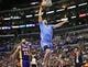 April 6, 2014; Los Angeles, CA, USA; Los Angeles Clippers forward Hedo Turkoglu (8) scores a basket against the Los Angeles Lakers during the second half at Staples Center. Mandatory Credit: Gary A. Vasquez-USA TODAY Sports