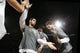 Apr 6, 2014; San Antonio, TX, USA; San Antonio Spurs forward Tim Duncan (21) during player introductions before the game against the Memphis Grizzlies at AT&T Center. Mandatory Credit: Soobum Im-USA TODAY Sports