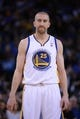April 4, 2014; Oakland, CA, USA; Golden State Warriors guard Steve Blake (25) looks on against the Sacramento Kings during the first quarter at Oracle Arena. The Warriors defeated the Kings 102-69. Mandatory Credit: Kyle Terada-USA TODAY Sports